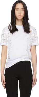 White Cut-Out Stars T-Shirt