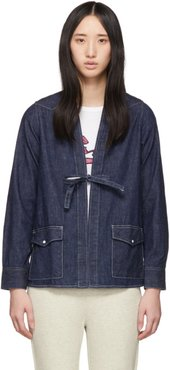 Indigo Denim Lhamo Jacket