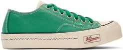 Green Skagway Lo Patten Sneakers