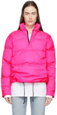 Pink Crescent Down Works Edition Down Western Pullover Jacket