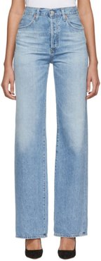 Blue Annina High-Rise Jeans