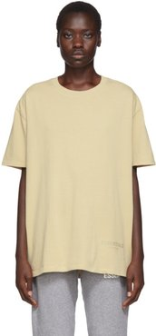 SSENSE Exclusive Beige Boxy T-Shirt