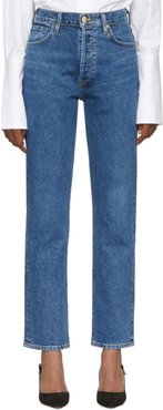 Blue The Benefit High Rise Jeans