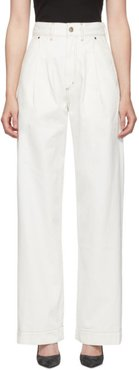 White The Trouser Jeans
