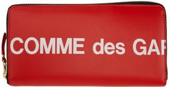 Red Huge Logo Continental Wallet