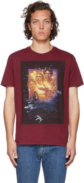 Red Star Wars Edition Poster T-Shirt