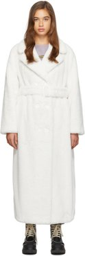 White Long Faustine Coat
