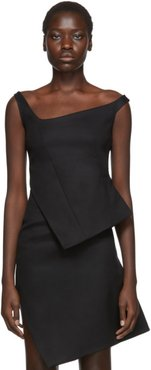 Black Motion Structured Top