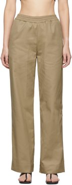 Tan Durban Trench Trousers