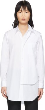 White Double Layer Shirt