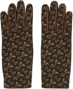 Brown Monogram Classic Gloves