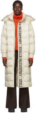 White Quilted Puffer Coat