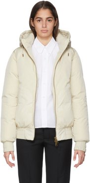 Off-White Down Hooded Jacket