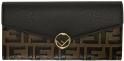 Black and Brown Forever Fendi Clutch