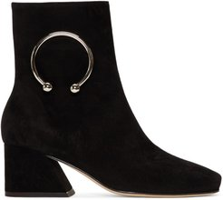 Black Suede Nizip Re-Edition Boots