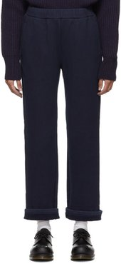 Indigo Thick Sweat Safety Lounge Pants