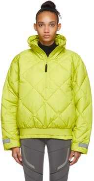 Green Pull-On Puffer Jacket
