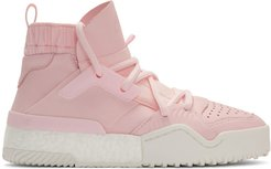 Pink B-Ball High-Top Sneakers