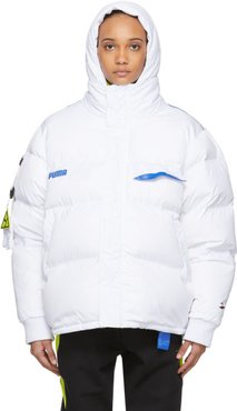 White Down Puma Edition Puffer