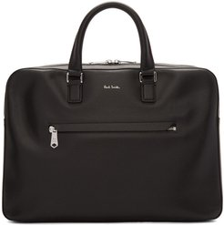 Black Bright Stripe Business Folio Briefcase
