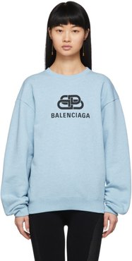 Blue BB Logo Sweatshirt