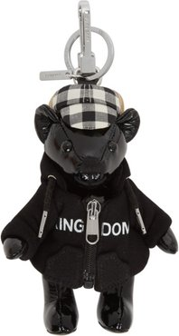 Black Leather Thomas Hoodie and Cap Keychain