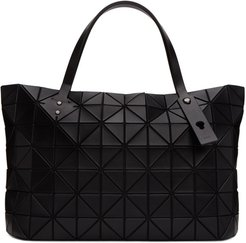 Black Matte Slash Carton Tote
