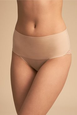 Spanx Cheeky Brief In Almond - Size: L