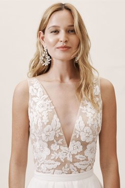 Marian Top In Almond - Size: 8 - at BHLDN