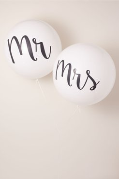 Mr. & Mrs. Jumbo In White - Size: One Size - at BHLDN