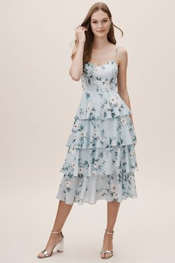 Yumi Kim Aidy Dress In Primrose Blue - Size: S