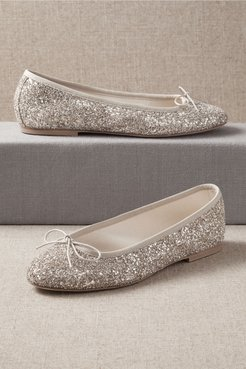Prunella Flats In Beige - Size: 35 Eu - at BHLDN