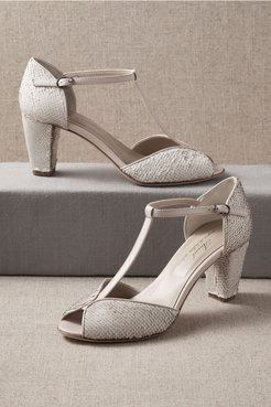 Belluna Heels In Neutral - Size: 40 Eu