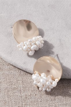 Rubina Earrings In Gold - Size: One Size - at BHLDN