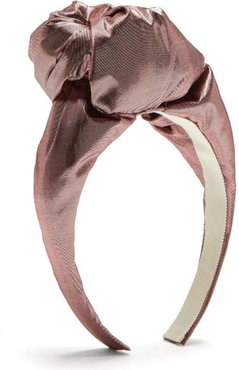 Gisele Metallic Knotted Headband
