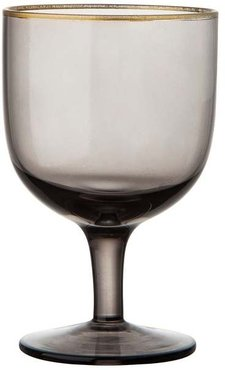 Set Of 6 Deco Water Goblets