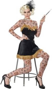 The Amazing Tattooed Lady Adult Costume