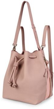 Notting Hill Leather Bucket Bag