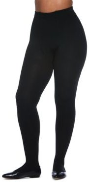 Plus Size The Easy On! Thermal Plush-Lined Tights