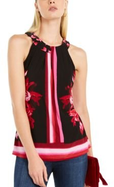 Inc Twisted Keyhole Halter Top, Created For Macy's