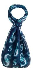 Seattle Mariners All Over Logo Infinity Scarf