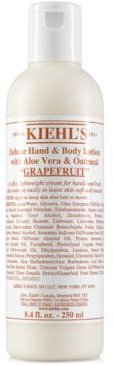 1851 Deluxe Hand & Body Lotion With Aloe Vera & Oatmeal - Grapefruit, 8.4-oz.