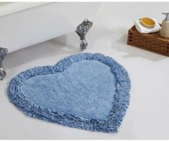 "Ruffle Heart Bath Rug 30"" Bedding"