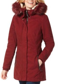 Cotton Twill with Attached Hood Jacket