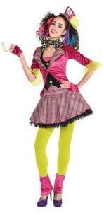 Mad Hatter Adult Women's Costume
