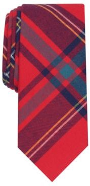 Abby Skinny Plaid Tie, Created For Macy's