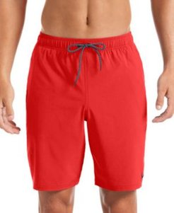 "6:1 Stripe Breaker Water-Repellent Colorblocked 9"" Board Shorts"