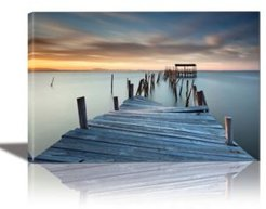 Collapsed Framed Canvas Wall Art