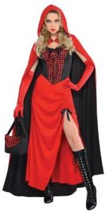 Riding Hood Enchantress Adult Women's Costume