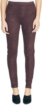 Grease Faux-Suede Legging